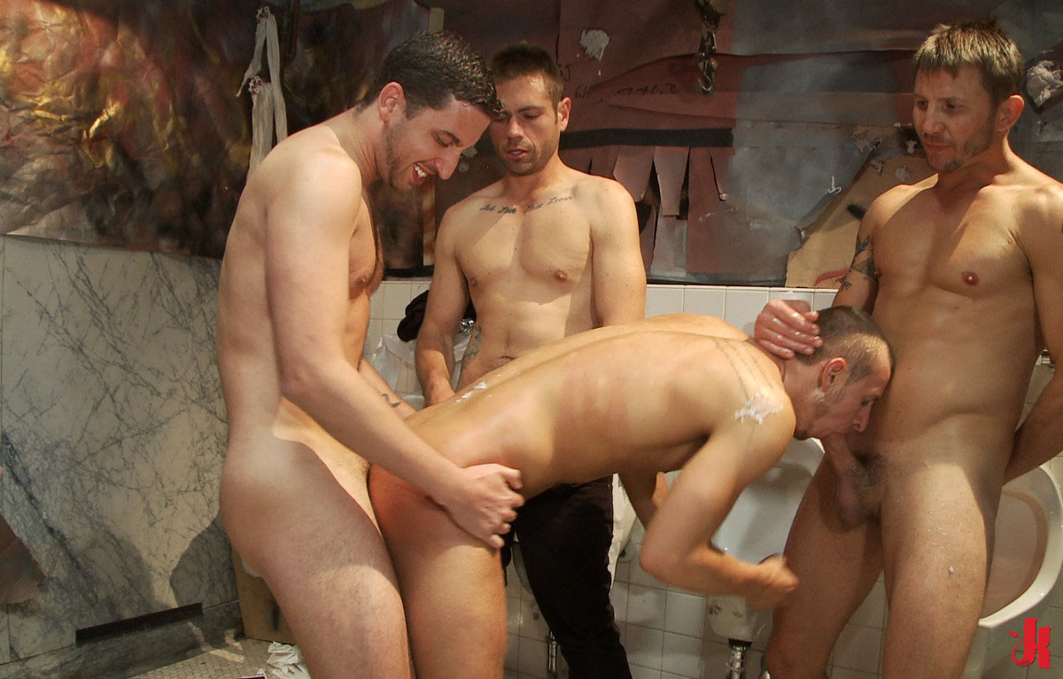 OnlyDudes - Gay group sex