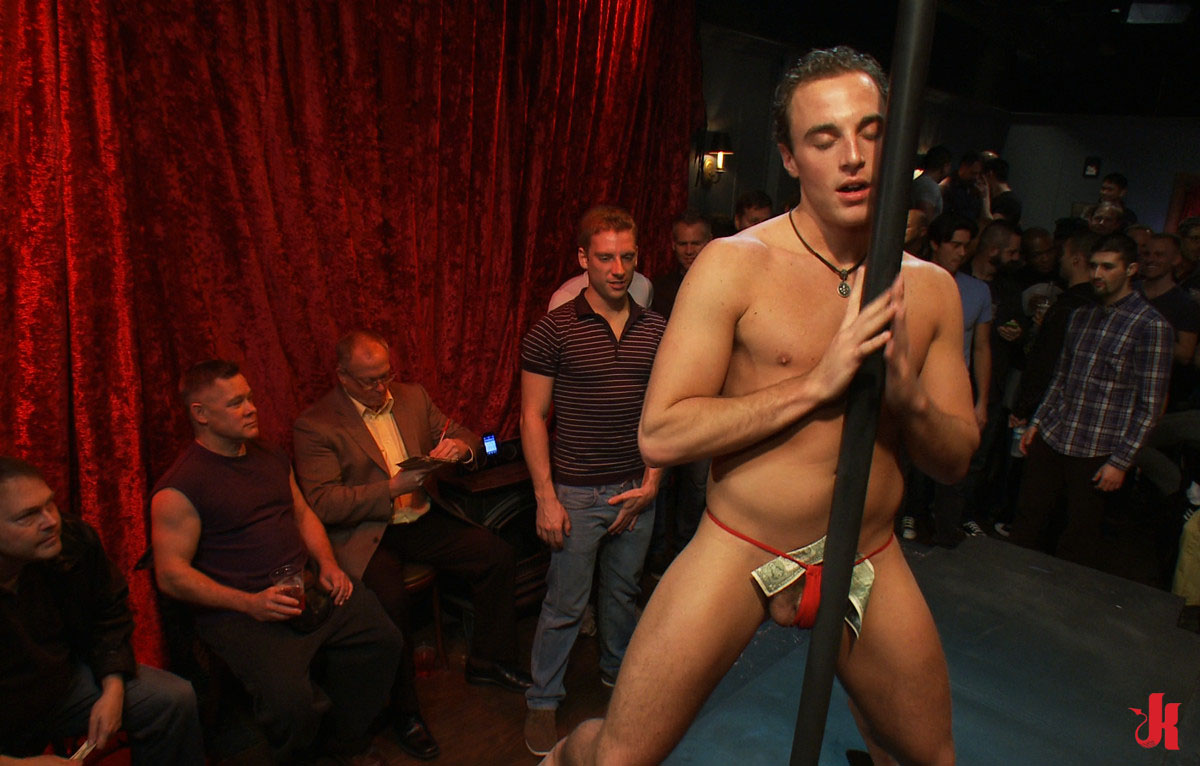 Bound In Public - Gay Strip Club Witness Rough Attack On -9301