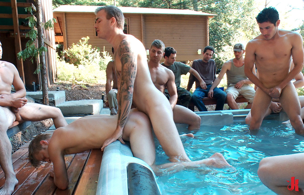 Variant good outdoor group sex fuck