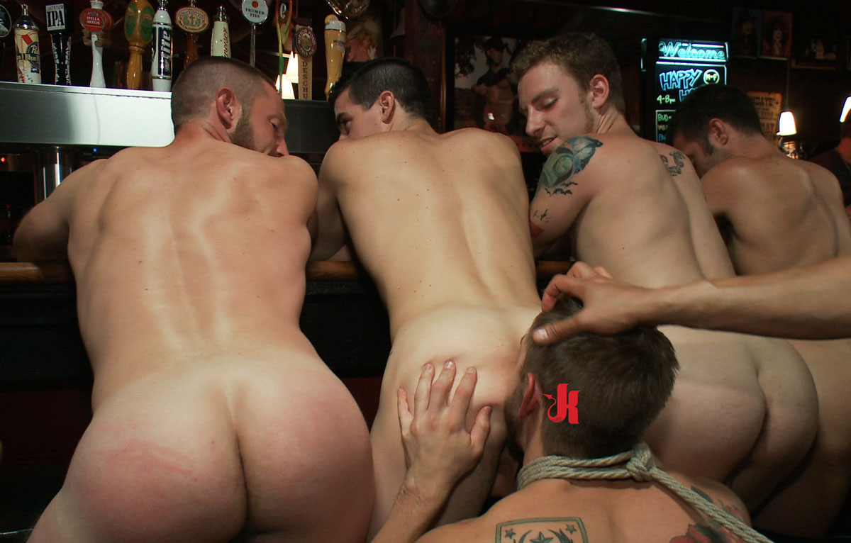 Bound In Public - Fearfull And Curious Gay Hunk Tastes For -3526