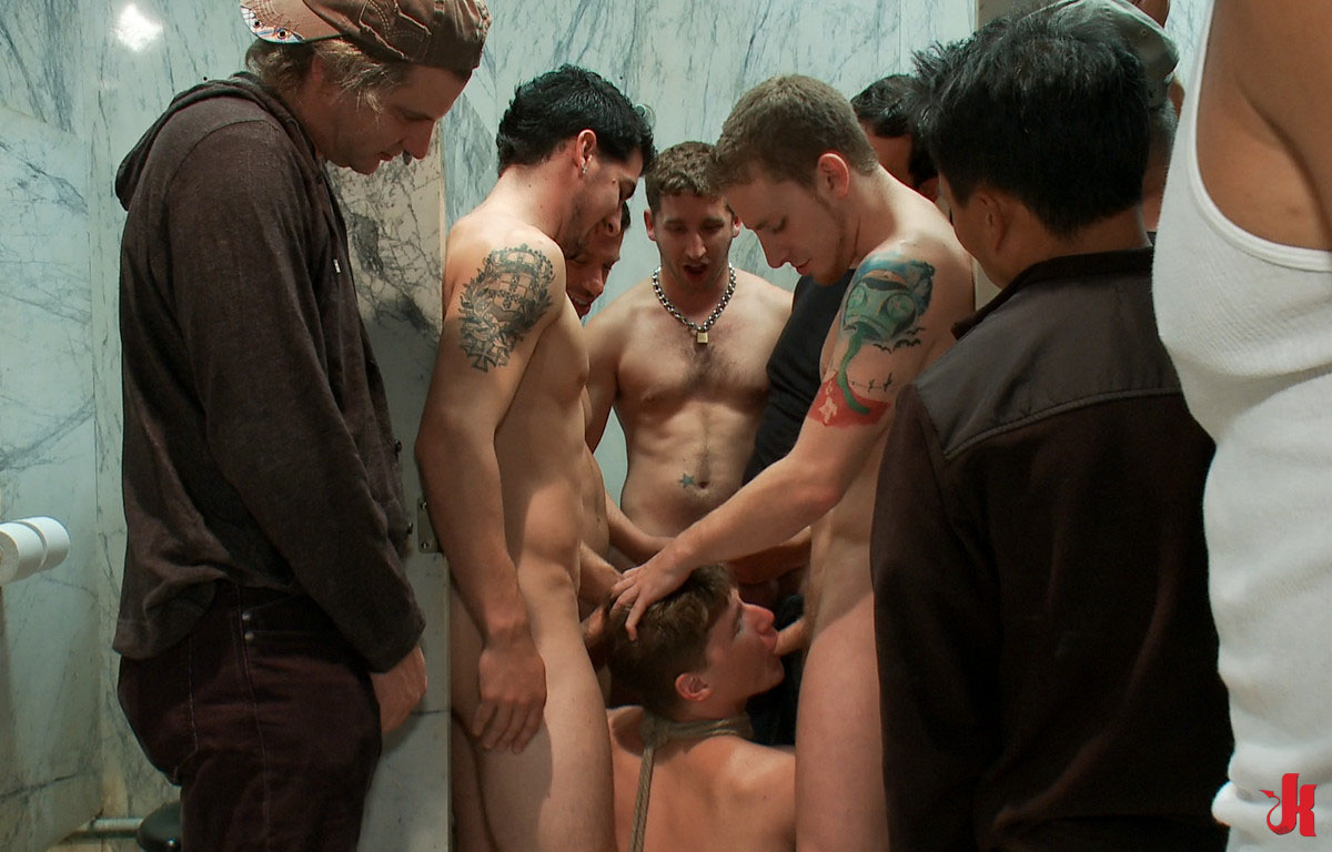 Filthy Gay Guys Group Fuck